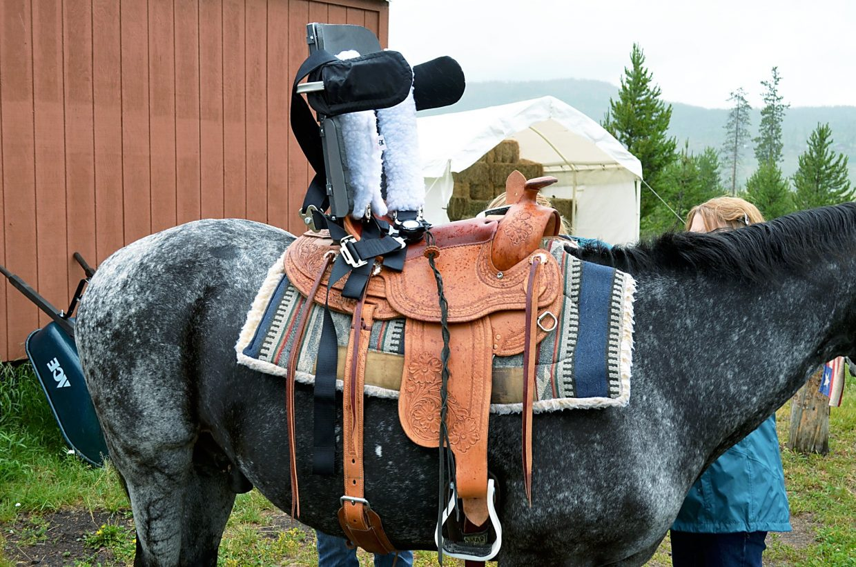 School of Mines, NSCD develop new saddle for adaptive riders