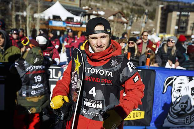 Silverthorne resident Chris Corning of United States during the U.S. Grand Prix event Sunday, Dec. 10, at Copper Mountain.