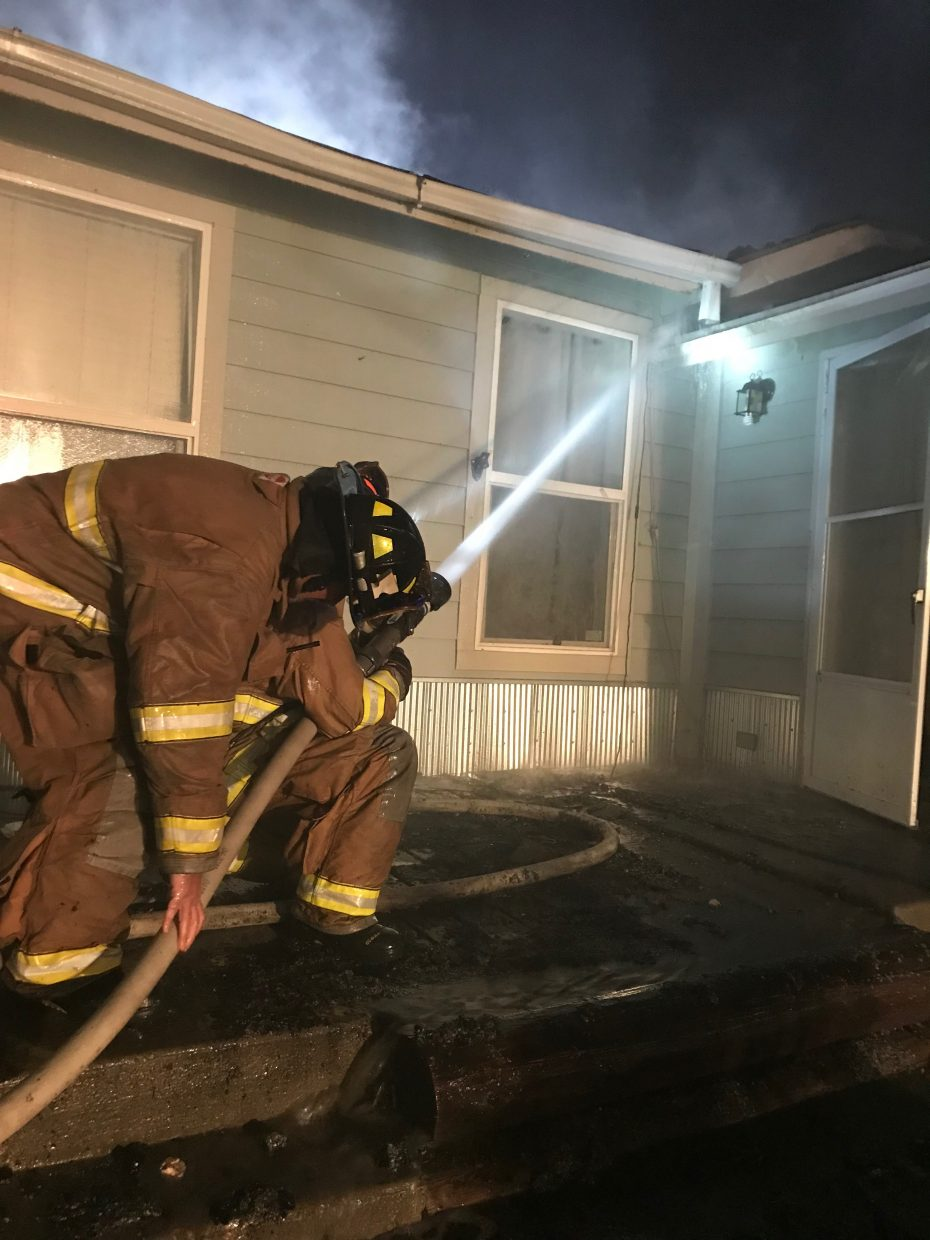 Kremmling Fire was assisted by Hot Sulphur Springs Fire and Grand Fire, as well as the Grand County Sheriff's Office, Grand County EMS and the Kremmling Police Department.