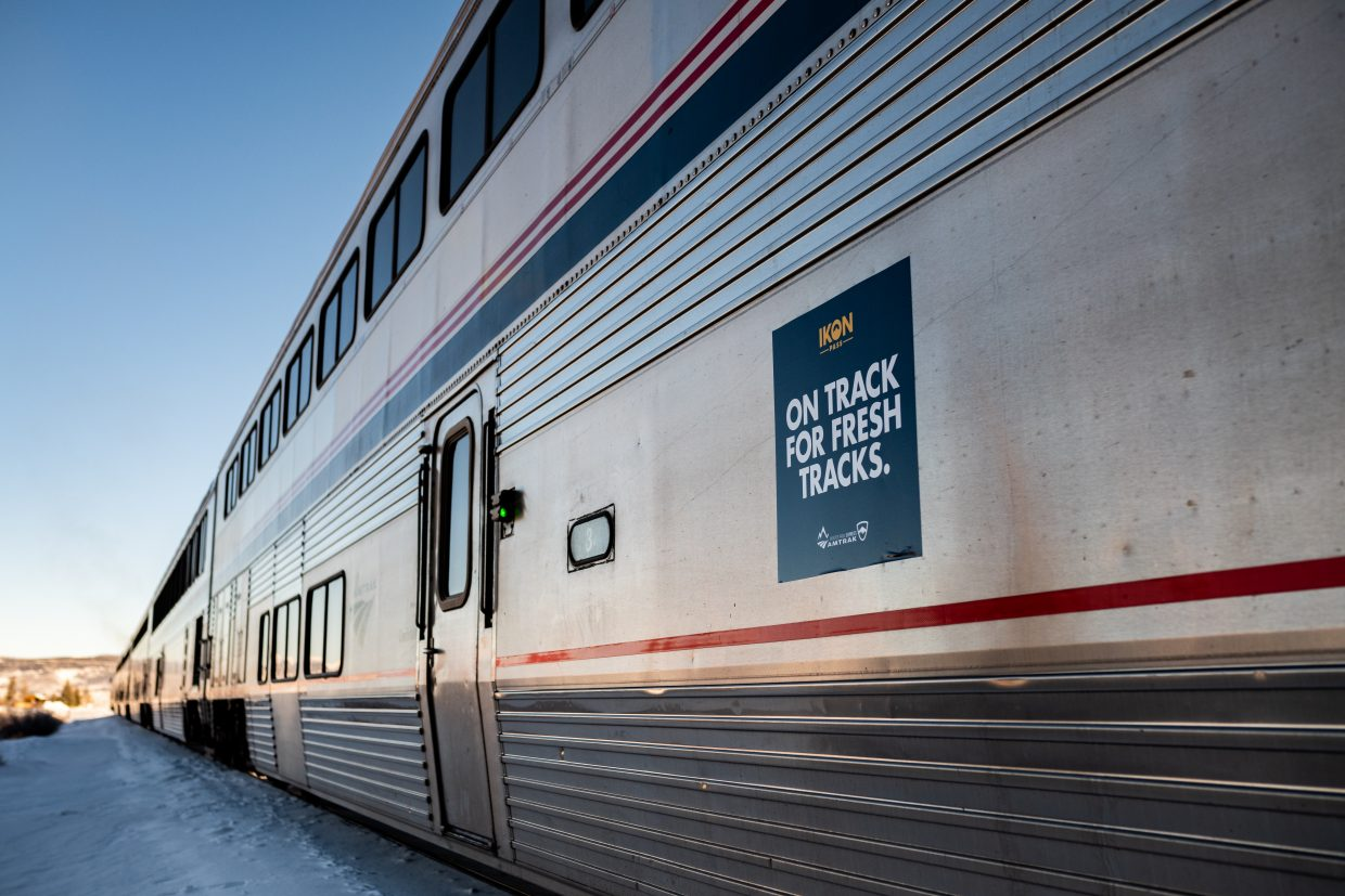 The Winter Park Express had its inaugural trip of the season on Jan. 4.