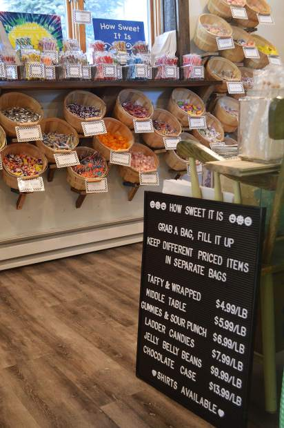The Sweet Life in Winter Park sells candy by the pound and offers hundreds of selections to satisfy any sweet tooth.
