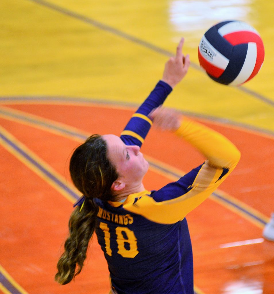 West Grand volleyball vs. North Park, Tuesday, Aug. 27, 2019, in Kremmling.